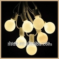 Popular and numerous in variety Night Decorative 20 Patio White Pearl String Lights Bulbs with White Cord