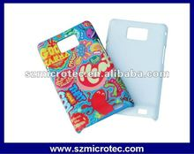 Plastic case for Samsung Galaxy S2 i9100, 3d sublimation case