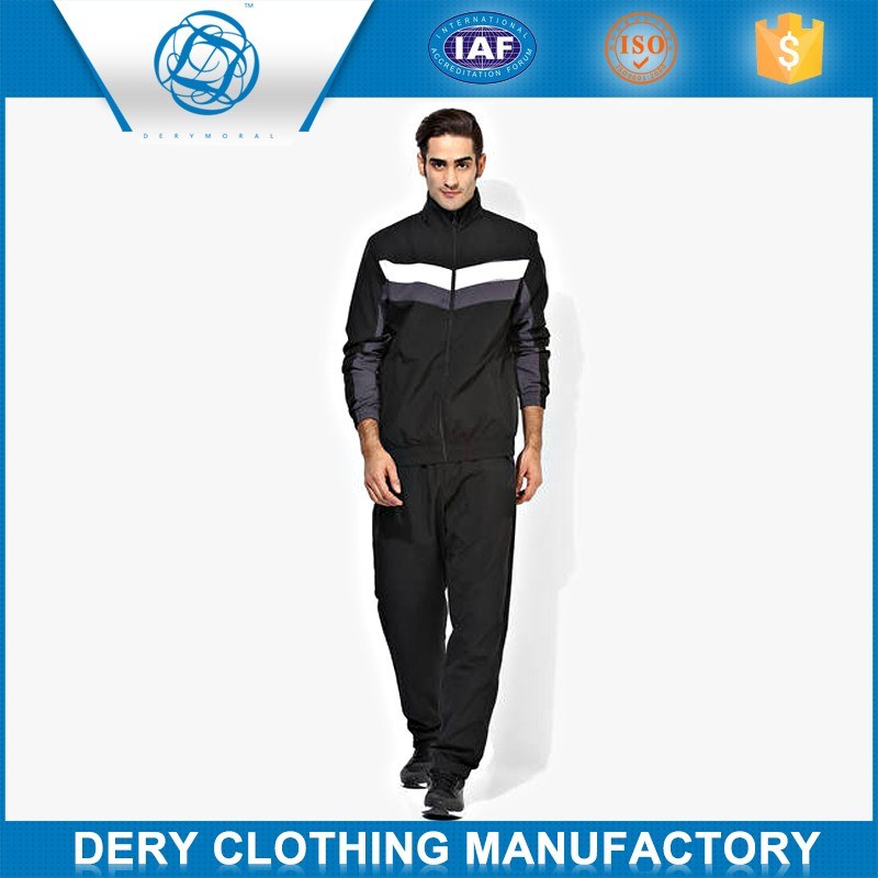 Professional men winter tracksuit in moisture fabric