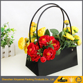 Durable matte PVC shopping bag PVC Tote Bag PVC Carrier Bag for flowers/clothes/etc..