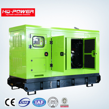 Super silent 100kva canopy silent diesel generator with famous engine and alternator