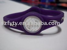 Customized silicone sports bracelets balance wristband