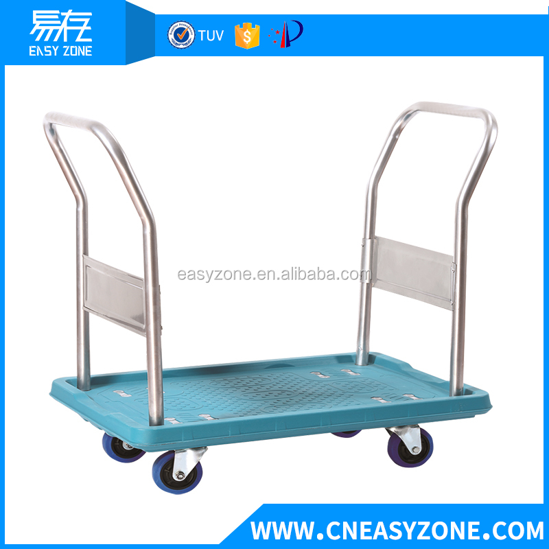 YCWM1707-0010 plastic folding hand trolley for hotel