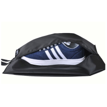 Wholesale custom soccer zipper fabric shoe travel bag
