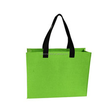 plain felt handmade bag ladies felt fabric promotion bag