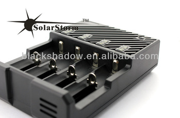 Solarstorm B4 automatic multi lithium ion battery charger 4 battery slots