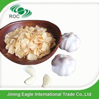High quality natural Chinese dried dehydrated garlic sliced flakes
