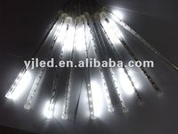 LED falling snow light shooting star christmas light 10tubes/set