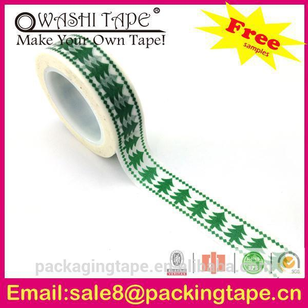 gorgeous new design cute and lucky rice paper tape