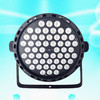 New Arrival LED Stage Lighting 1.5Wx54pcs Each RGB LED Par Light Plastic Seven Color Change Good Disco Party Mini Par Light