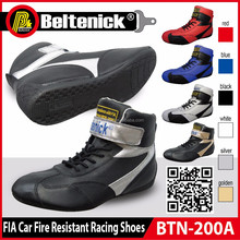 Beltenick FIA Car Fire Resistant Racing Shoes BTN-200A