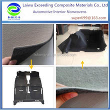 thick hard needle punched felt polyester felt for automotive thermoformed