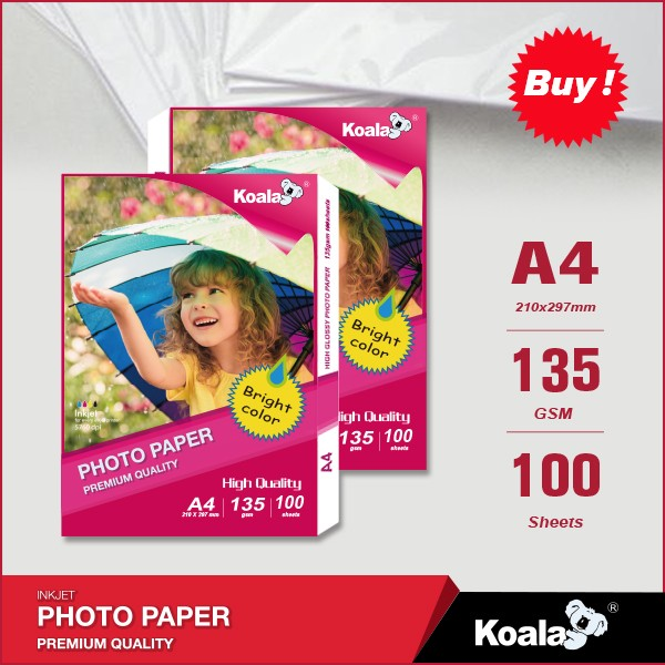 Professional High Glossy Inkjet Photo paper