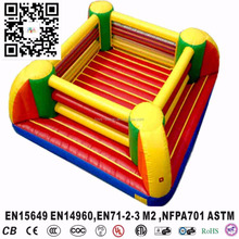 outdoor sport game inflatable wrestling boxing ring for sale