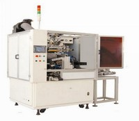 Full automatic single color high speed injection syringe screen printing machine
