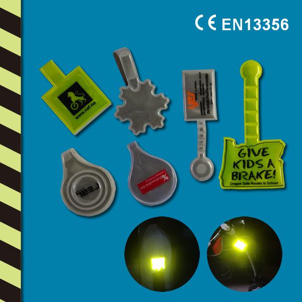 Магнитные Рефлектор Клип в Круг Форма для Safe Kids