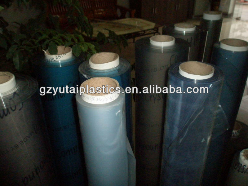 pvc clear film for bag making 0.07mm
