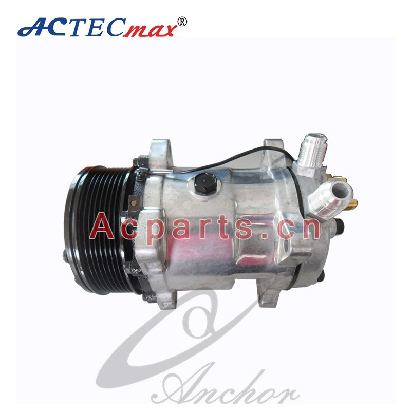 Auto 12/24V Universal Sanden SD508 Compressor For Car Air Conditioner 125mm Pulley