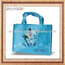 Promotional top quality pp woven mat lamination shopping bag