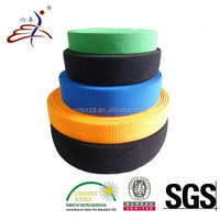 pure colored twill weave elastic webbing