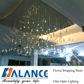 8 Colors Optical Fiber Chandelier Light for Shopping Mall and company house lighting