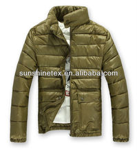 Winter padded coat for men