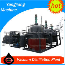 Black Waste Lube Oil Regeneration System for Base Oil by Vacuum