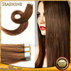 Alibaba Trade Assurance Paypal Accepted Tangle Free Quality Skin Weft PU Glue Virgin Tape Hair Extensions