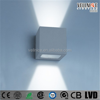 IP54 up down outdoor LED wall sconces LED outdoor garden light 3W 6W 8W 10W