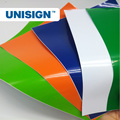 UNISIGN self adhesive color cutting vinyl / pvc decal sticker for cutting plotter