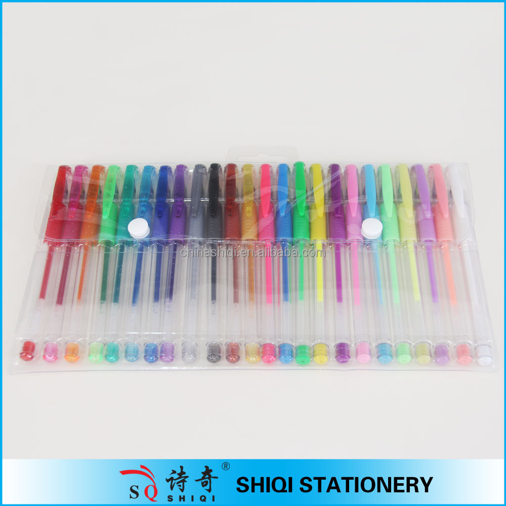 Customized OEM 24pcs 48pcs gel ink pen for promotion gift