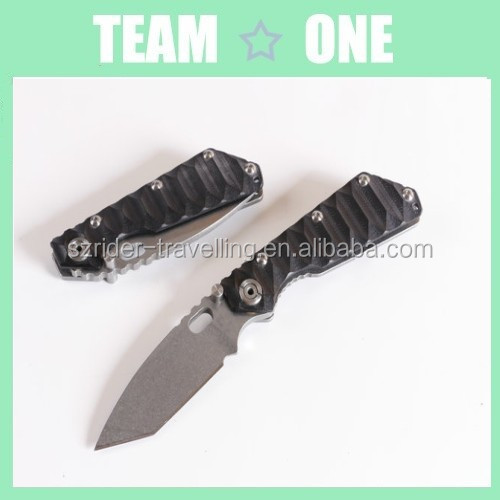 <strong>Black</strong> clip folding blade knife pocket knife RD402266