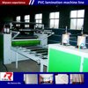 China supplier pvc laminated gypsum board machine gypsum tile making machine