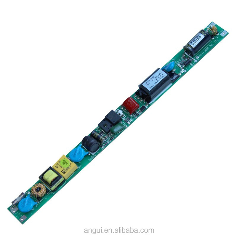 new comming 0.3a 80v t8 tube driver for 24w led tube lighting with extension wire slim case power supply