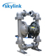 best price high pressure double rubber air diaphragm oil pump