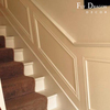 High quality polyurethane moulding HD-C0059 waterproof decorative wainscoting panels for interior and exterior