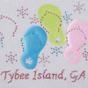 Garment Accessories Colorful Beach Shoes Rhinestone