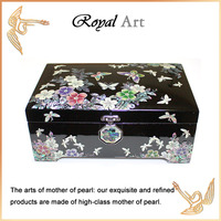 Luxury Jewelry Box with Mother of pearl inlaid; CL-511