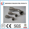 45 degree JIC female rubber hose fitting