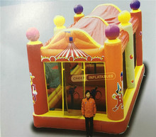 Cheer Amusement the Most Interesting Inflatable Cannon Playhouse Indoor Kids Playhouse