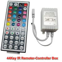 5050/3528 LED Strip RGB Controller 12V RGB Light Dimmer Controller 44 Key IR Remote Dimmers