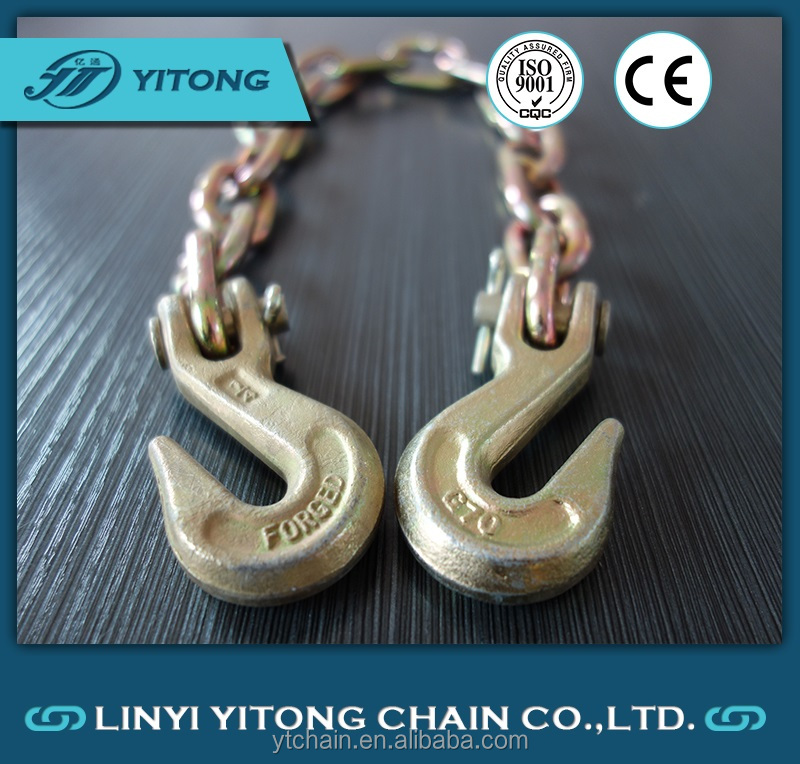 G70 Linyi Welded NACM1996/2003/2010 Transport Steel Chain