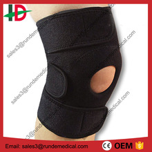 Open Patella Knee support Stabilizer and Wrap with FDA CE