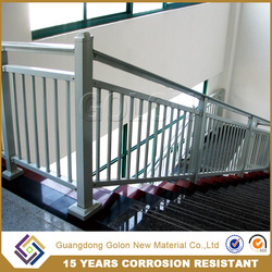 Fire resistance garden stair railing , stair handrail , wrought iron stair railing