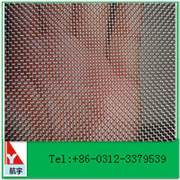 Manufacturer in china stainless woven wire cloth