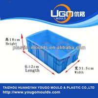 Good price plastic seafood crate injection mould maker