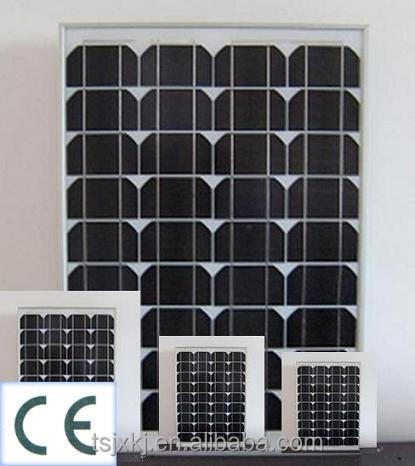 Factory Price Mono PV Module round solar panel with CE, ISO, TUV, CEC certificates