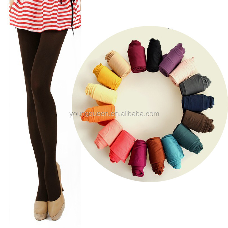 PN15 Autumn and winter explosion models candy color velvet pantyhose wholesale