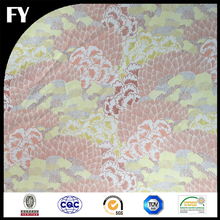 wholesale custom printed high quality 98% cotton 2% elastane fabric