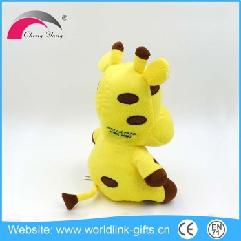 The children 's favourite yellow cow plush plush toy manufacturer animal toy